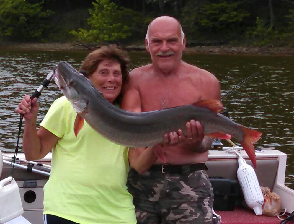 "2014 OHMC Summer Contest - Gloria Roberts - 45"" Big Fish Winner"