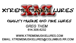 Xtreme Muskie Lures